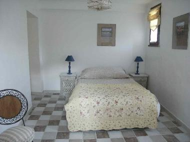 double room - chammbre MIMOSA with private bathroom