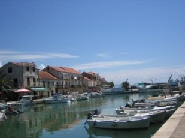 The village harbour