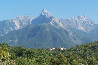 Apuanian Alps nearby