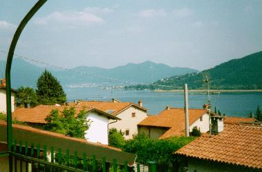 View to the lake Iseo