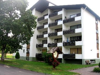 The apartment house in Baiersbronn-Buhlbach in quiet location