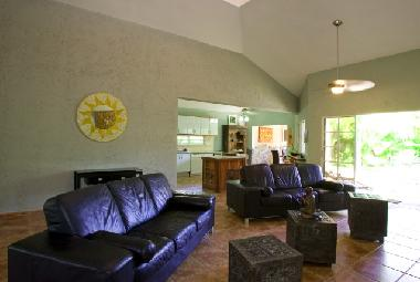 Open and spacious 18 ft vaulted Living Area