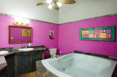 Master Bathroom with large 2-person Jacuzzi tub