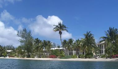 Island Houses of Cayman Kai on lagoon