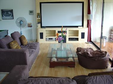 Lounge + 92 Inch Cinema System