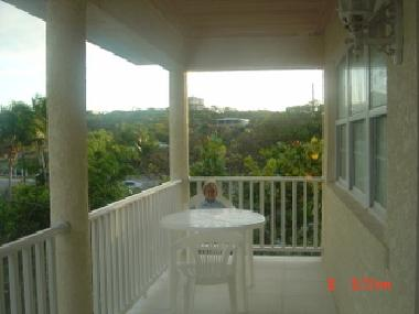 Second floor balcony