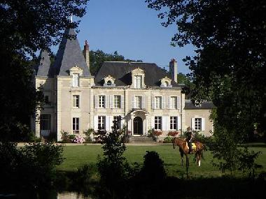 Palace / Castle in brain sur allonnes (Maine-et-Loire) or holiday homes and vacation rentals