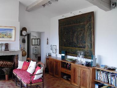 The livingroom in provence style