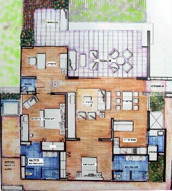 Holiday apartment kamala luxury apartment by the sea for Holiday home builders floor plans