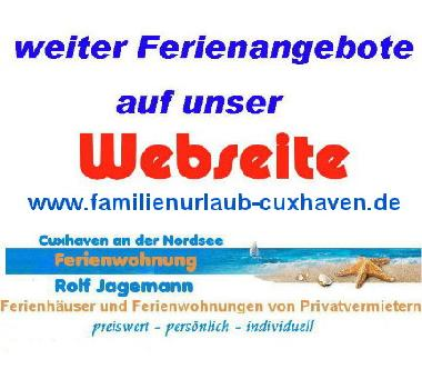Holiday Apartment in Cuxhaven (Nordsee-Festland / Ostfriesland) or holiday homes and vacation rentals