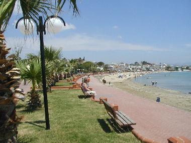 Altinkum main beach