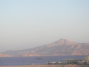 View From roof Tiran Island