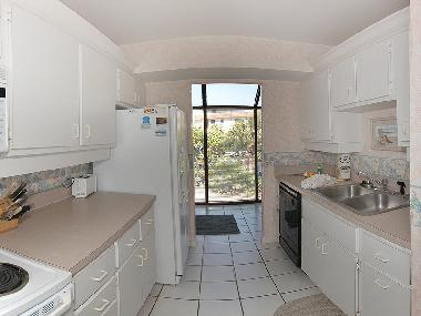 Kitchen with view to utility room.