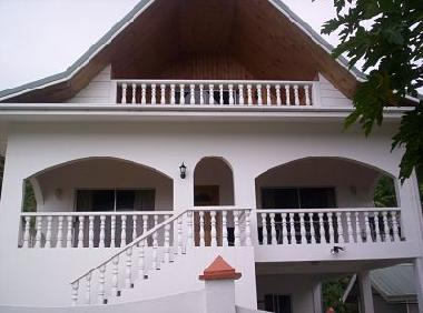 Front View/ Verandah with Ocean  View