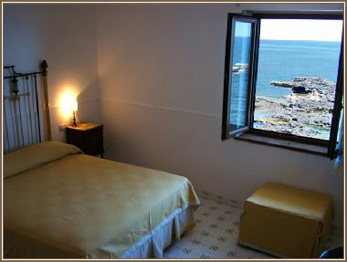 double bed room  sea view