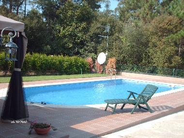 Holiday house portonovo casa con piscina en la costa holiday house spain holiday house - Piscinas en pontevedra ...