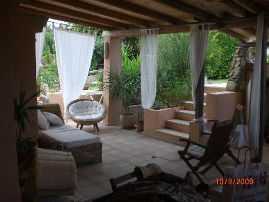 Holiday House in residence porto luna (Cagliari) or holiday homes and vacation rentals