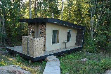Sauna, Outdoor Shower And Guest House With 4 Beds