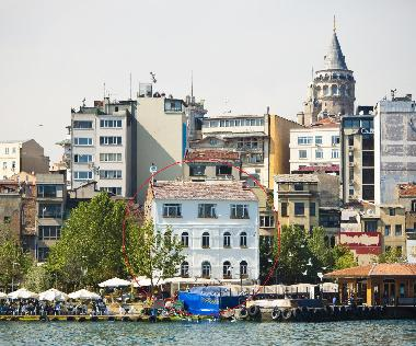 Where Ark Istanbul Apartments are located.