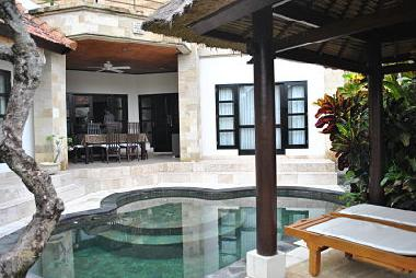 The private Villas with private Pool