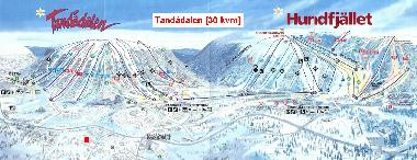 Central location in the ski area which has 42 lifts and 59 pists.