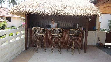 Private Bar at the terrass