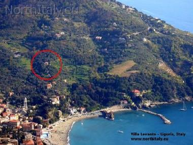 Vacation house Levanto with seaview Cinque Terre Liguria Italy