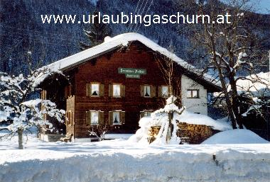 Holiday House in Gaschurn (Bludenz-Bregenzer Wald) or holiday homes and vacation rentals