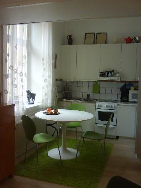 Diningarea and kitchenette