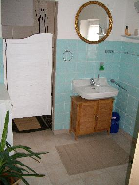 Bathroom with separate shower (and separate WC)