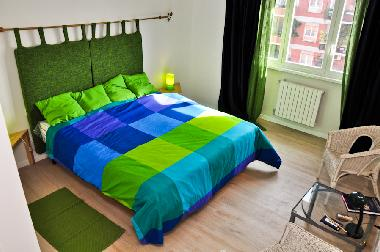 BED room:double bed or twinbeds available