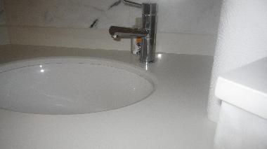 sink in bathroom