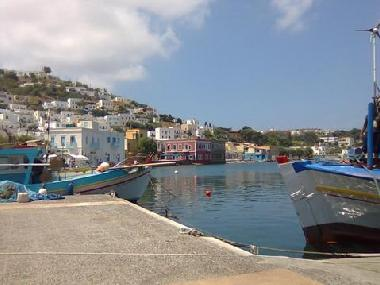 Agia Marina port , one minute on foot