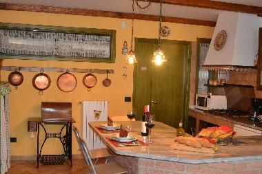 The old style kitchen in villa (Southern Italy)