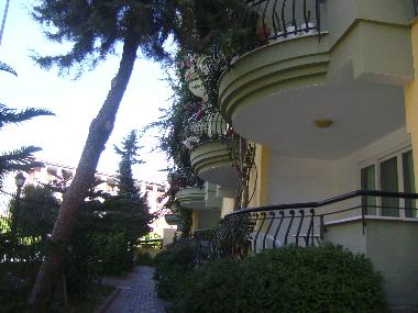 Front-view of the apartment