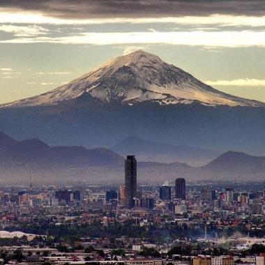 Wonderful view of Mexico, CIty