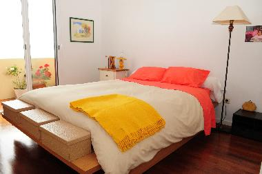 double bedroom with acess to varanda