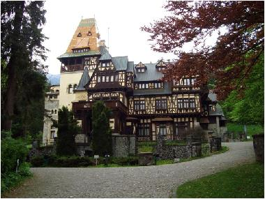Bran, castle of Count Tepes (Dracula)