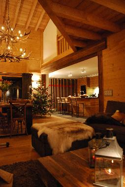 Chalet in La Tzoumaz (Verbier) or holiday homes and vacation rentals