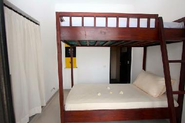 Third bedroom with bunk bed (2 single beds)