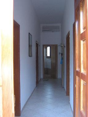 corridor of the house with efficient air conditioning throughout the house