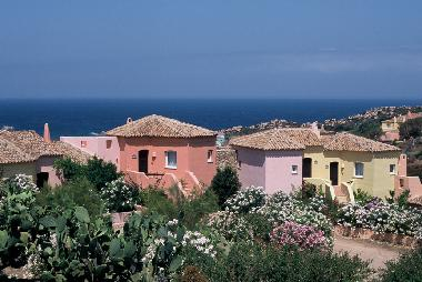 The Village Is Designed In Traditional Sardinian Style