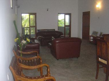Bed and breakfast panadura sea view upstair house bed and for Living room designs sri lanka