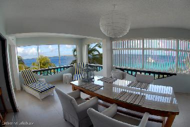 You can't get any closer to the sea. We're only 16 feet away with great views from every window.
