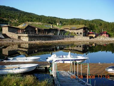 private harbour with boat rental