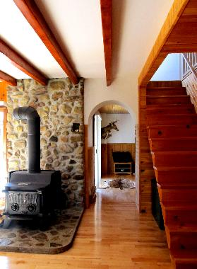 Chalet in Lac-Supérieur (Quebec) or holiday homes and vacation rentals