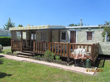Caravan in gastes (Landes) or holiday homes and vacation rentals