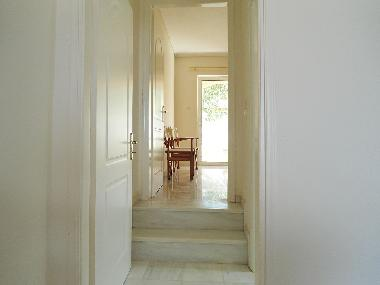 The hallway to the bedroom