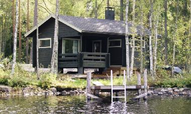Lakeside sauna is located only 15 meters from the lake. From the pier you can go swimming after saun