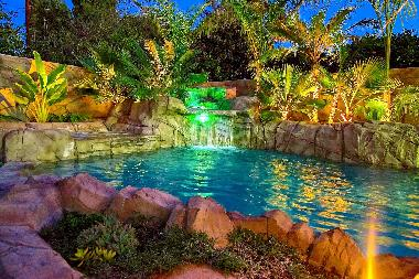 Pool Jacuzzi Waterfall